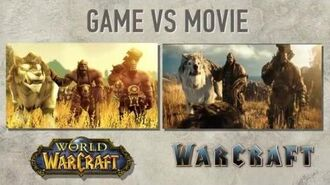 Warcraft Movie vs WoW