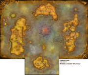 Pandaria imagined on Azeroth map