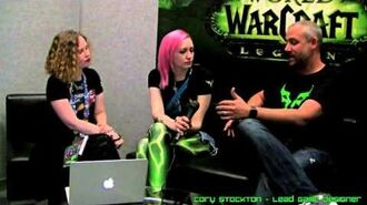 Cory Stockton WoW Systems Interview - Blizzcon 2015 (Reupload)