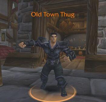 Old Town Thug