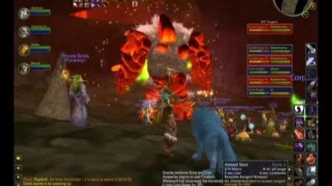 WoW Tyraenny Kill Molten Core - Golemagg the Incinerator