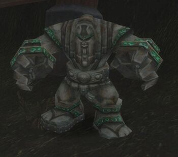 Cracked Golem