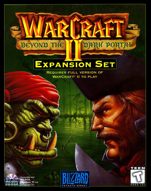 World of Warcraft Cover Cover Art For Warcraft ii