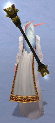 Jailer's Baton, Snow Background, NE Female