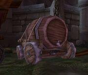 Drohn's Distillery Festive Wagon