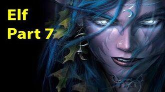Warcraft 3 Gameplay - Elf Part 7 - Twilight of the Gods