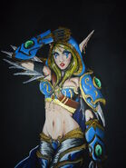 Sylvanas windrunner alive by daniellewhite-d6ovsts
