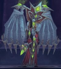 Blood Queen Lana'thel (tactics)