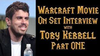 Toby Kebbell (Durotan) Warcraft Movie On-Set Interview - Part 1