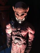 May 2016 press set tour Orgrim costume