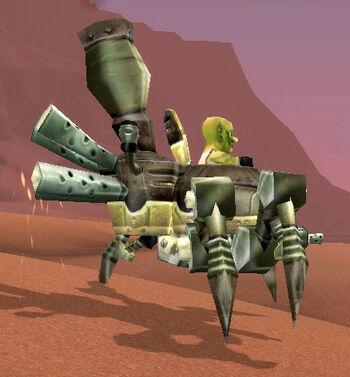Crazed Spiderbot Pilot