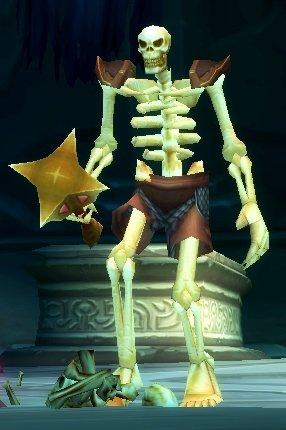 Angered Skeleton