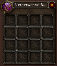 wow inventory slots