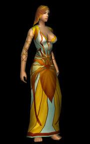 Crystal Webbed Robe