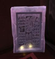 Drakkari History Tablet