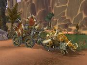 Sullahs Sideshow Horde Kodo wagon