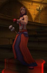 Scarlet trainee