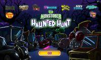Menu - Haunted Hunt