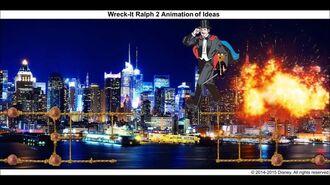 Wreck-It Ralph 2 Animation of Ideas 14
