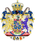 Greater Coat of Arms of the Empire of Sweden by eric4e (Sweden and Norway)