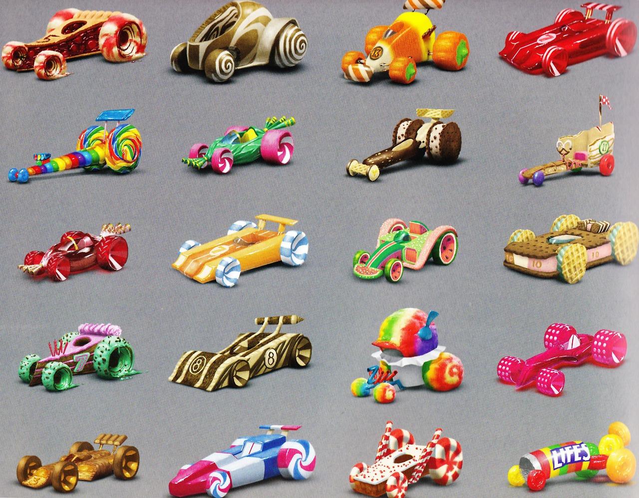 Image - Sugar rush karts.png   Wreck-It Ralph Wiki ...