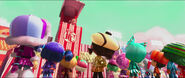 King Candy with Sugar Rush Racers