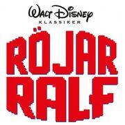 Wreck It Ralph logo Swedish
