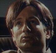Fox Mulder undergoing hypnosis