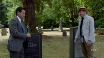 Mulder and Scully Meet the Were-Monster