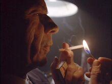 Cigarette Smoking Man translates files