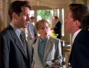 Tom Colton confronts Fox Mulder