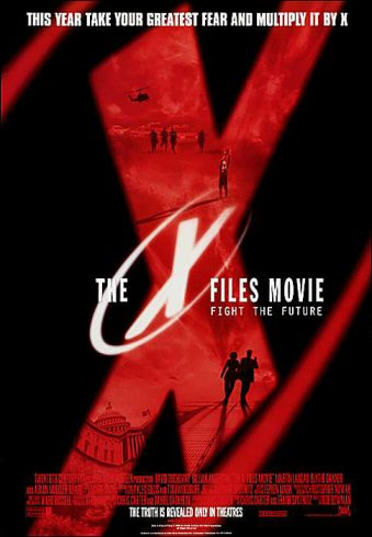 The X-Files Movie Poster  X Files Movie Poster