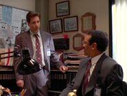 Reggie Purdue and Fox Mulder (1993)
