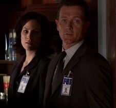 John Doggett recruiting Monica Reyes