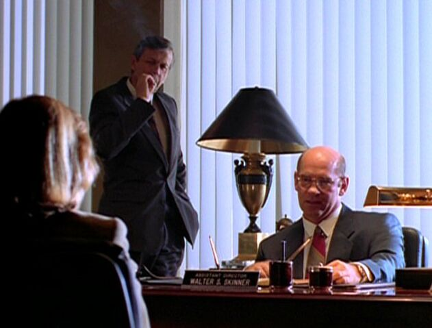 File:Walter Skinner and the Cigarette Smoking Man with Dana Scully.jpg
