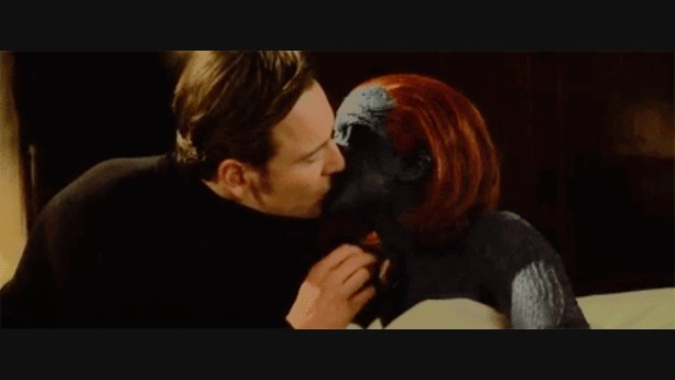 Erik kisses Raven X Men First Class Magneto And Mystique