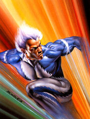 Quicksilver (by Boris Vallejo) 01