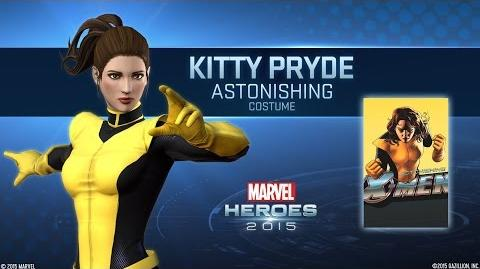 Kitty Pryde joins Marvel Heroes 2015!