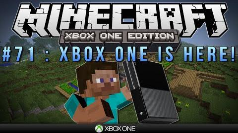 """Minecraft Xbox """"XBOX ONE IS HERE"""" Survival 71"""