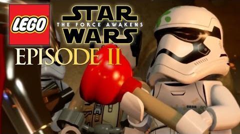 ASSAULT ON JAKKU Lego Star Wars The Force Awakens Gameplay Episode 2