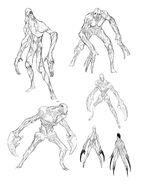 XCOM2 Faceless ConceptSketches