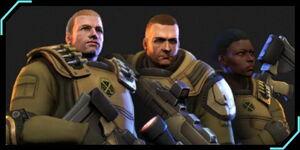 XCOM-EU Soldiers