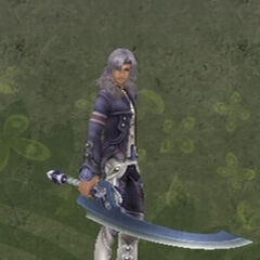 Alvis' and his Claymore weapon