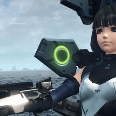 Lin piloting a <a href=