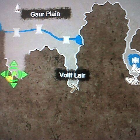 Location of Torn Paper in Gaur Plain