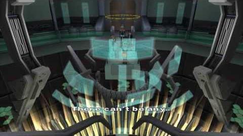 Xenosaga Episode I HD Cutscene 130 - Mizrahi's Abomination - ENGLISH