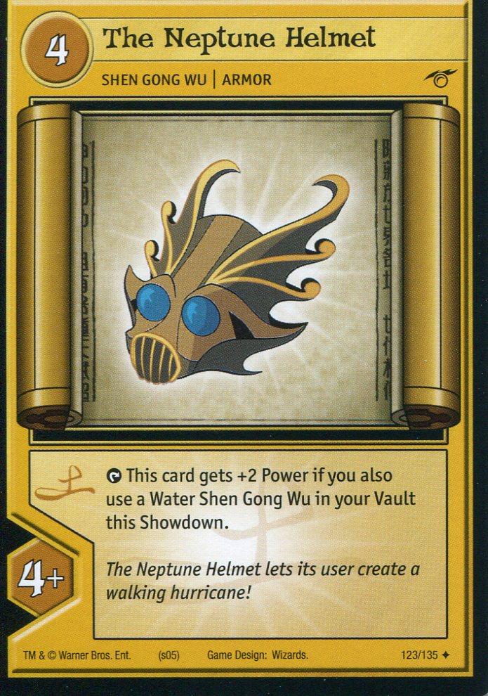 tcgthe neptune helmet xiaolinpedia fandom powered by