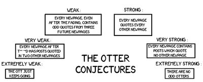 Otter conjectures