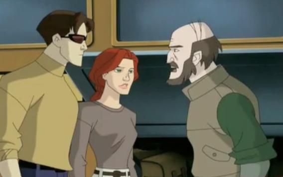 Jean can t go  X Men Evolution Jean And Scott
