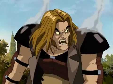 X men evolution sabertooth